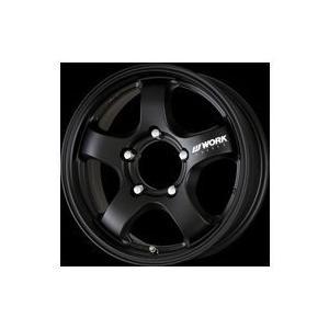 WORK CRAG S1J 16×5.5J +20 5/139 マットブラック アルミ 4本セット|tire-access