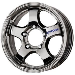 WORK CRAG S1J 16×5.5J +20 5/139 ワークブラックメタルコート アルミ 4本セット|tire-access