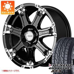 サマータイヤ 225/75R16 103/100Q ダンロップ グラントレック AT3 アウトラインホワイトレター & レイズ デイトナ FDX-D KR 7.0-16|tire1ban