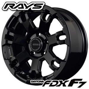レイズ デイトナ FDX F7 BT 7.0-17 ホイール1本 DAYTONA FDX F7 BT|tire1ban