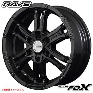 レイズ デイトナ FDX SB 8.0-17 ホイール1本 DAYTONA FDX SB|tire1ban