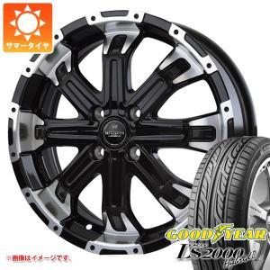 サマータイヤ 165/55R15 75V グッドイヤー イーグル LS2000 ハイブリッド2 & バドックス ロクサーニ バトルシップ4 5.0-15 タイヤホイール4本セット