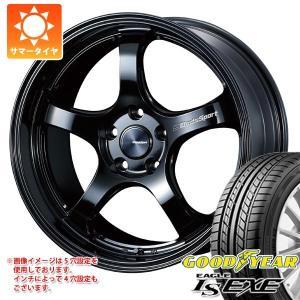 サマータイヤ 215/45R18 89W グッドイヤー イーグル LSエグゼ & ウェッズスポーツ RN-05M 7.5-18|tire1ban