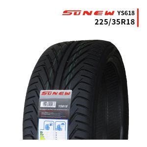 225/35R18 新品サマータイヤ SUNEW YS618