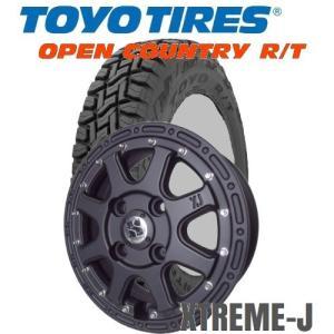 軽トラ、軽バン145/80R12 TOYO/OPEN COUNTRY R/T 12x4.00B XTREME-J/エクストリームJ|tiremart24
