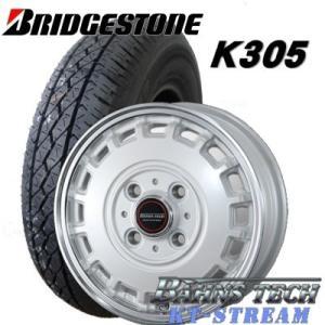 ■タイヤ■ ●タイヤサイズ:145R12 6PR ●タイヤ名:BRIDGESTONE K305/ブリ...