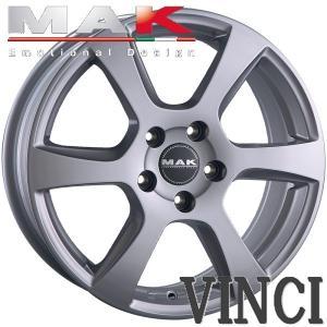 ●ホイール名:MAK VINCI(ヴィンチ) ●サイズ:1X5.5J 4穴 PCD:98 ●カラー:...