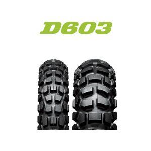 ダンロップ Buroro D603 100/90-19 M/C 57P WT リア tireoukoku