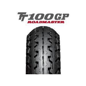 ダンロップ TT100GP(G) 100/90-19 57H WT カワサキ W400/W650用 チューブタイプ|tireoukoku