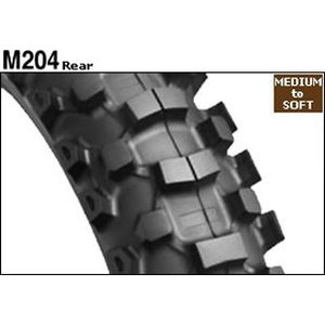後輪用 BRIDGESTONE モトクロス用タイヤ M204 80/100-12 41M WT ブリヂストン|tireoukoku