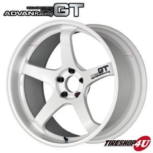 ADVAN Racing GT(アドバンレーシングGT) 18×10.5J 5/114.3 +24WW(レーシングホワイト)|tireshop4u