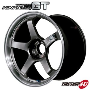 ADVAN Racing GT(アドバンレーシングGT) 18×11.0J 5/114.3 +30MHB(マシニング&レーシングハイパーブラック)|tireshop4u