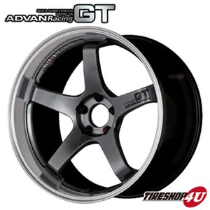ADVAN Racing GT(アドバンレーシングGT) 20×10.0J 5/120 +32 HUB:72.5φMHB(マシニング&レーシングハイパーブラック)|tireshop4u