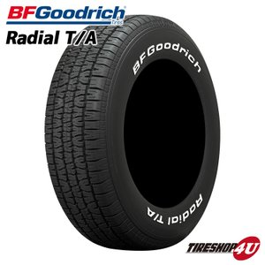 255/60R15 サマータイヤ BFグッドリッチ ラジアルT/A ホワイトレター 2016年製|tireshop4u