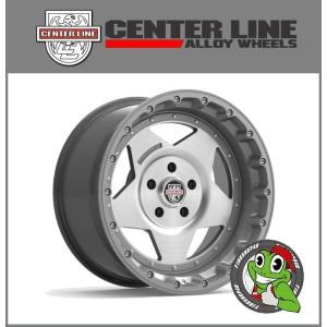 【ラングラー/ラム/シルバラード/F150】【センターライン RT1 KU】18×9.0J ET12 Satin Graphite/Brushed  【厳選M/Tタイヤ 33×12.50R18】|tireshop4u