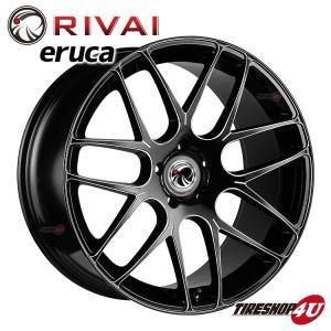 RIVAI ERUCA 17×7.5 5/120 +37 SMBKV マットブッラック/エッジスモーク BMW 3シリーズ F30 F31 X4 F26 など|tireshop4u