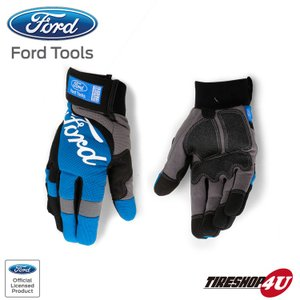 FORD TOOLS FITTED ANTI SLIP GLOVES XL メカニックグローブ|tireshop4u