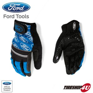 FORD TOOLS ANTI SLIP SLICON PALM GLOVES L メカニックグローブ|tireshop4u