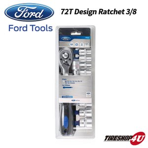 FORD TOOLS 72T Design Ratchet for 3/8