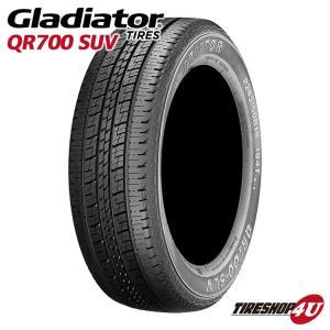 新品 GLADIATOR QR700 255/65R18 109H サマータイヤ  255/65-18|tireshop4u