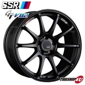 SSR GTV02 17×7.0J 5/114.3 +42 HUB:73Φフラットブラック tanabe(タナベ) FFT(フローフォーミング) tireshop4u