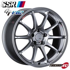 SSR GTV02 17×7.0J 5/114.3 +50 HUB:73Φグレアシルバー tanabe(タナベ) FFT(フローフォーミング) tireshop4u