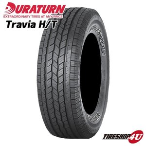 サマータイヤ 235/75R15 109T XL Duraturn Mozzo TRAVIA H/T アウトラインホワイトレター|tireshop4u