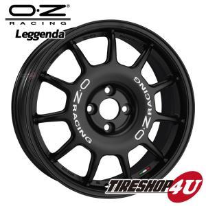 17インチ OZ LEGGENDA(レジェンダ)17×7.0J 4/100 +42 MB(マットブラック) VW MINI 国産車 tireshop4u