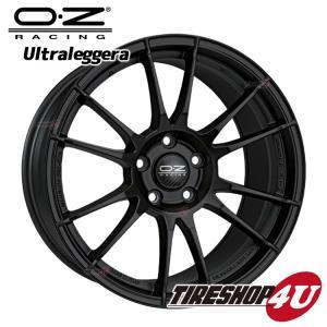 17インチ OZ ULTRALEGGERA(ウルトラレッジェーラ)17×7.0J 4/98 +30 MB(マットブラック) アルファロメオ フィアット tireshop4u