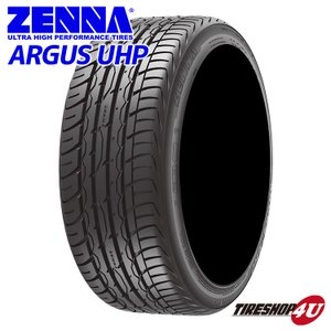 245/30R20 90W XL サマータイヤ ZENNA ARGUS UHP 2017年製 tireshop4u