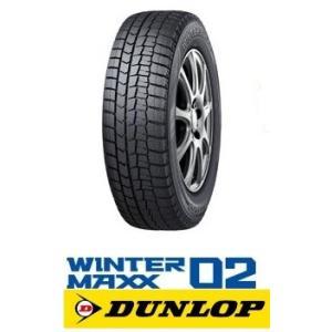 ダンロップ スタッドレスタイヤ  WINTER MAXX WM02  155/70R13 75Q ウ...