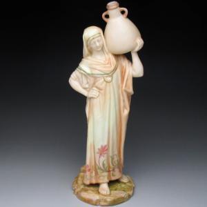 ロイヤルウースター カイロの水を運ぶ女性 フィギュア 人形 ...