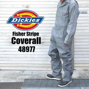 つなぎ Dickies ディッキーズ コットン カバーオール メンズ 4897 おしゃれ オーバーオール 作業着 オールインワン 流行|tis