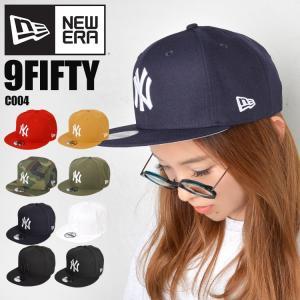 キャップ newera ニューエラ 9FIFTY NY ロゴ ビッグロゴ ニューヨークヤンキース 帽子 メンズ レディース アジャスタブル|tis