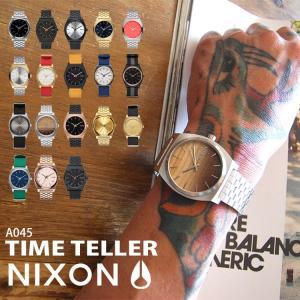 腕時計 NIXON ニクソン A045 時計 タイムテラー TIME TELLER ステンレス 生活防水 レディース メンズ 防水 かわいい おしゃれ|tis