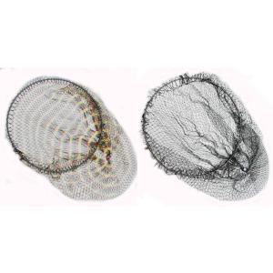 64チタン ワンピース 玉枠 (直径30cm)+ PE10号 手編み 迷彩柄 迷彩柄 タモ網 セット