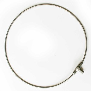 磯タモ 64チタン ワンピース 玉枠 30cm ( ロクヨンチタンフレーム φ5 )