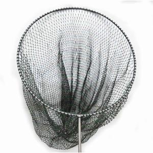 迷彩柄 鯉釣り ・ 磯釣り 硬形態チタン 直径80cm ワンピース 玉枠 + PE20号  手編み タモ網 2点セット (7番柄)|titanium
