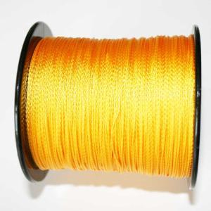 PE 100m  4編み 100LB  10号 オレンジ色|titanium