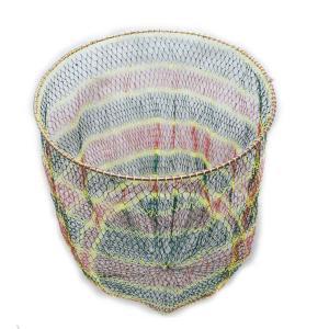硬形態チタン ワンピース 玉枠 直径80cm玉枠+PE20号 手編み タモ網 (3番柄セット)|titanium