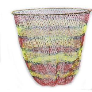 硬形態チタン ワンピース 玉枠 直径80cm玉枠+PE20号 手編みカラフル柄 タモ網 (6番柄セット)|titanium