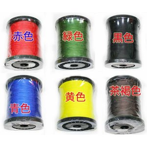 PEライン 200m 1号/2号/3号/4号/5号/6号/7号/8号/9号/10号 黒/茶/緑/黄/...