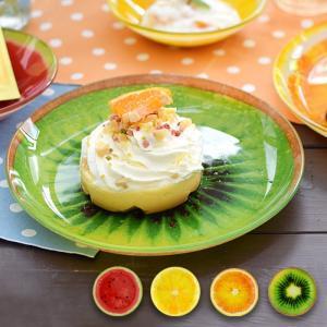 ◆商品について◆  フレッシュなフルーツ感あふれるデザインのガラスプレート。 テーブルが楽しい雰囲気...