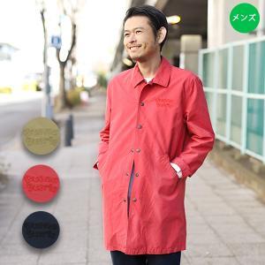 ◆商品について◆  胸元の刺繍がポイントのロングコーチコート。 人気のコーチジャケットをロング丈にし...