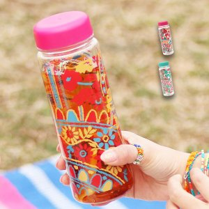 ◆商品について◆  常温の水などを普段持ち歩くのにぴったりな500mlのサイズのドリンクボトル。 フ...