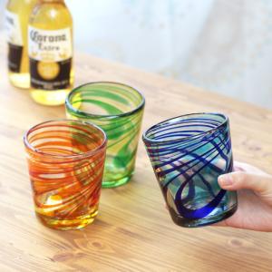 ◆商品について◆  マーブル模様が爽やかなロックグラス。 ギフトとしても◎ グリーン、ネイビー、レッ...