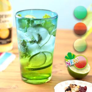 ◆商品について◆  清涼感のあるグラデーションがきれいなタンブラー。 カラーはライトブルー×グリーン...
