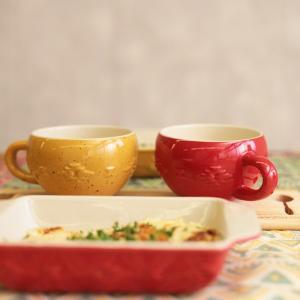 ◆商品について◆  ナバホ柄がぷっくり可愛いスープマグ。 寒い季節に大活躍間違いなし! ギフトにも嬉...