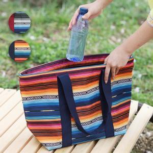 ◆商品について◆  サラッペ柄が目を引く保冷トートバッグ。 内側はアルミ蒸着シートで、保冷もばっちり...