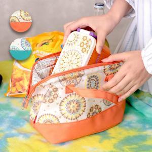 ◆商品について◆  がばっと開いて出し入れしやすい人気のがまぐちタイプの保冷バッグ。 可愛いデザイン...